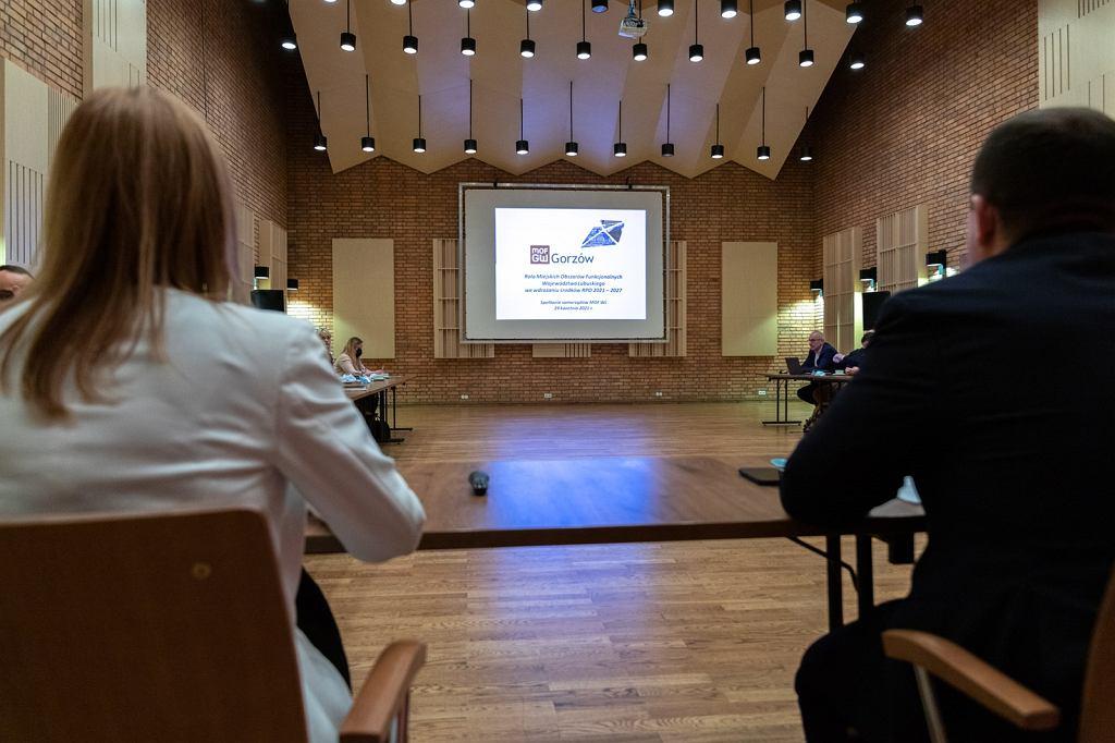 Wszystkie lubuskie obszary funkcjonalne dyskutowały w Gorzowie o podziale środków unijnych