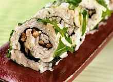 Sushi maki z gorgonzolą i orzechami - ugotuj