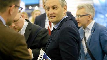 Robert Biedroń podczas Europejskiego Kongresu Gospodarczego