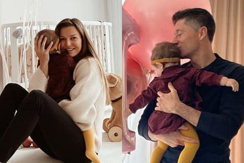 Anna i Robert Lewandowscy świętują urodziny córki
