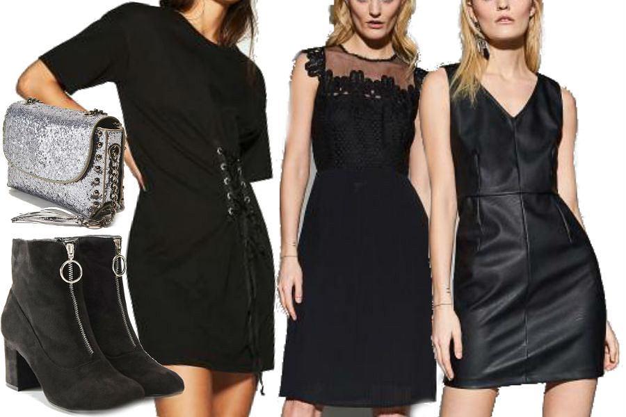 fot. materiały partnera/ modne sukienki w kolorze czarnym