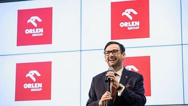PKN Orlen chce przejąć PGNiG. Do UOKiK wpłynął wniosek. Na zdjęciu Daniel Obajtek