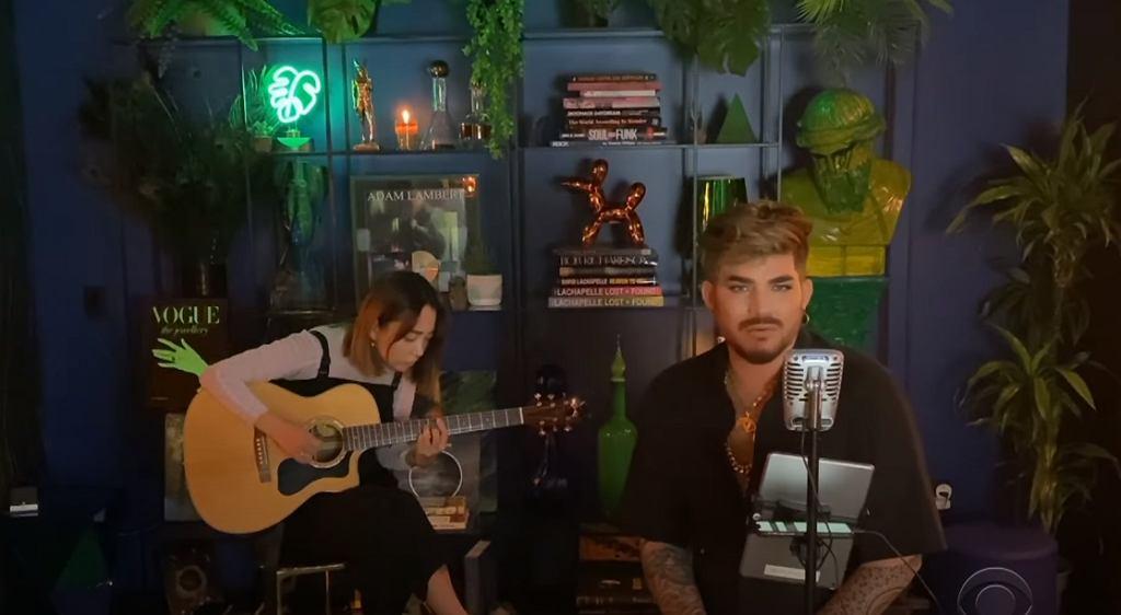 Adam Lambert: On the Moon