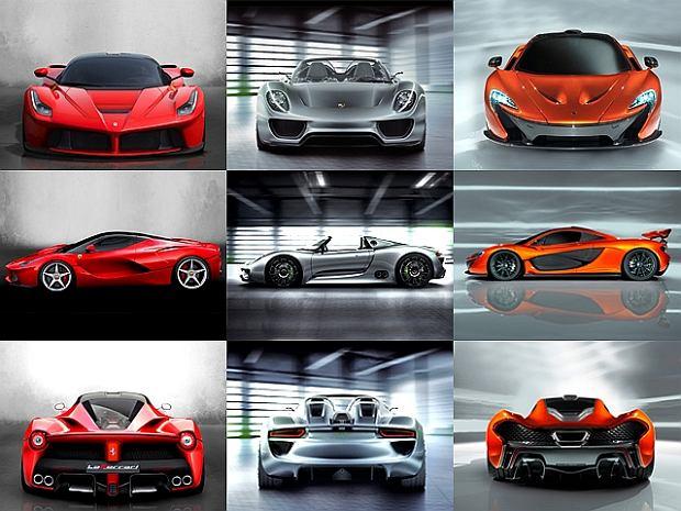 Ferrari LaFerrari | McLaren P1 | Porsche 918 | Walka tytanów