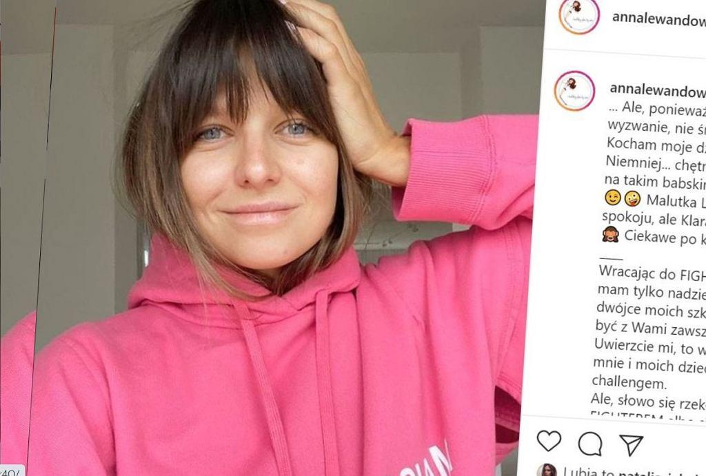 Anna Lewandowska, Instagram