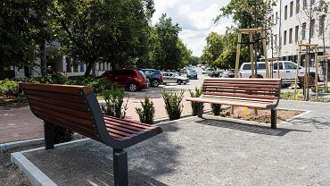 Park kieszonkowy przy ul. Partyzantów w Olsztynie