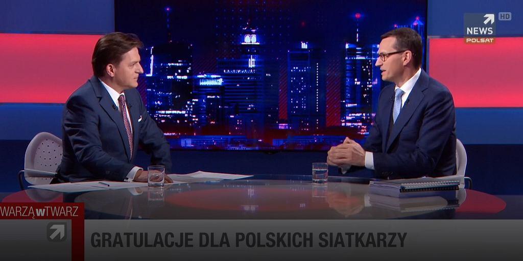 Mateusz Morawiecki u Bogdana Rymanowskiego