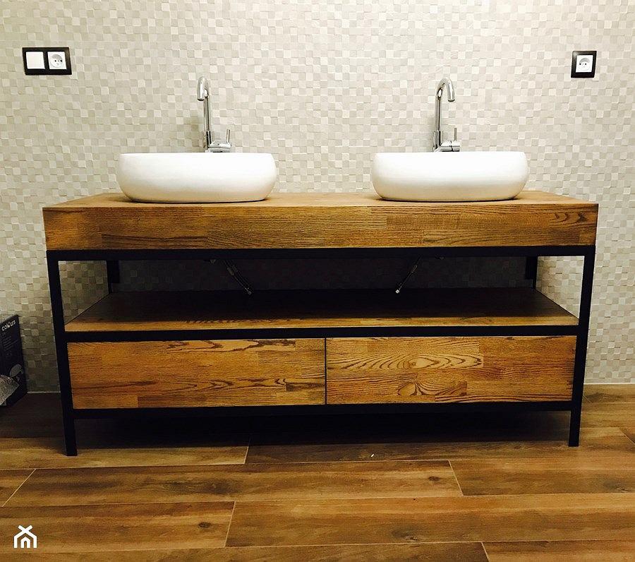 Szafka łazienkowa - idealna pod umywalkę