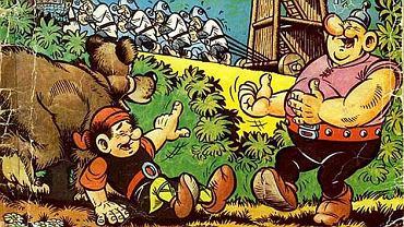 W Galerii i Ośrodku Plastycznej Twórczości Dziecka możemy zobaczyć plansze z komiksu o przygodach Kajko i Kokosza