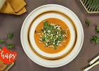 Rozgrzewająca zupa z batata i marchewki