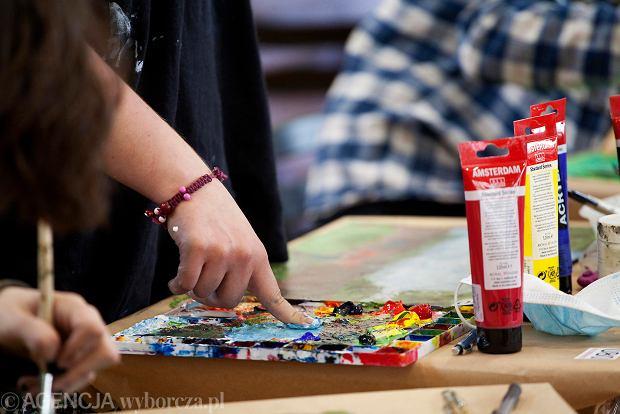 Zdjęcie numer 7 w galerii - W Gdyni odbyły się egzaminy wstępne do Liceum Sztuk Plastycznych [ZDJĘCIA]