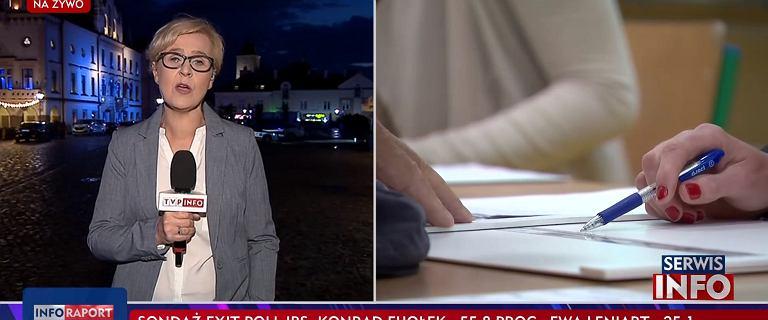 Rzeszów. TVP Info czekało ponad pół godziny z podaniem wstępnych wyników