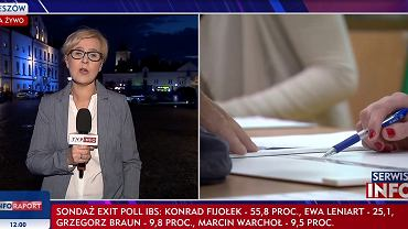 TVP Info o wyborach w Rzeszowie