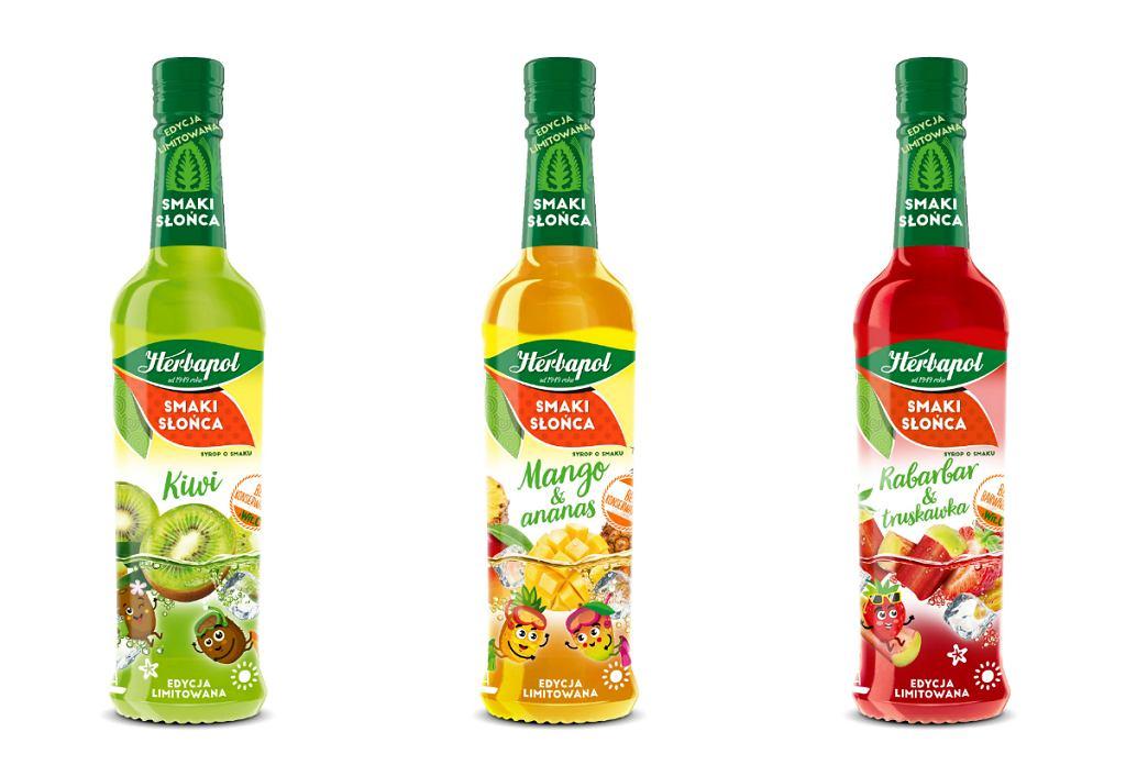 Smaki Słońca na wakacje! Daj się ponieść owocowemu orzeźwieniu z nowymi syropami marki Herbapol