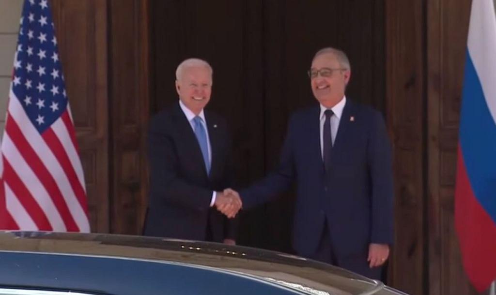 Joe Biden witany w Genewie przez szwajcarskiego prezydenta