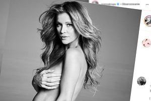 """Joanna Krupa pokazała nagie zdjęcie w ciąży. Nie wszystkim taki """"negliż"""" się podoba"""