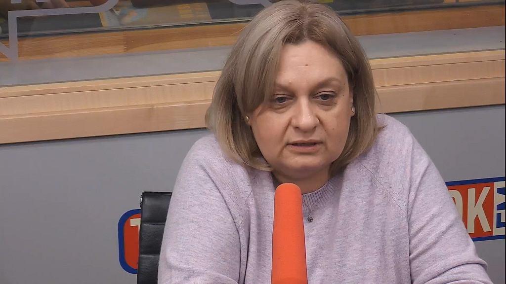 Monika Żelazik w TOK FM