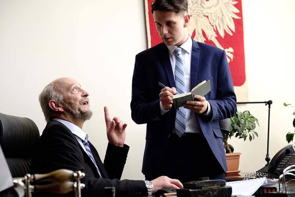 Kadr z filmu 'Polityka' Patryka Vegi