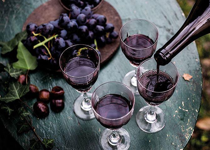 Chorwackie wina i napoje