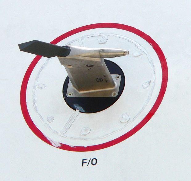 Rurka Pitota i dodatkowe czujniki umożliwiające kontrolę między innymi wysokości oraz prędkości na burcie maszyny A380