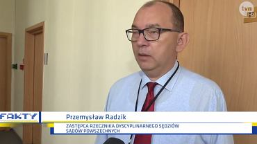 Przemysław Radzik w rozmowie z dziennikarzem 'Faktów' TVN powiedział 'Nigdy wam tego nie zapomnę', odnosząc się do medialnych doniesień o jego udziale w grupie 'Kasta'