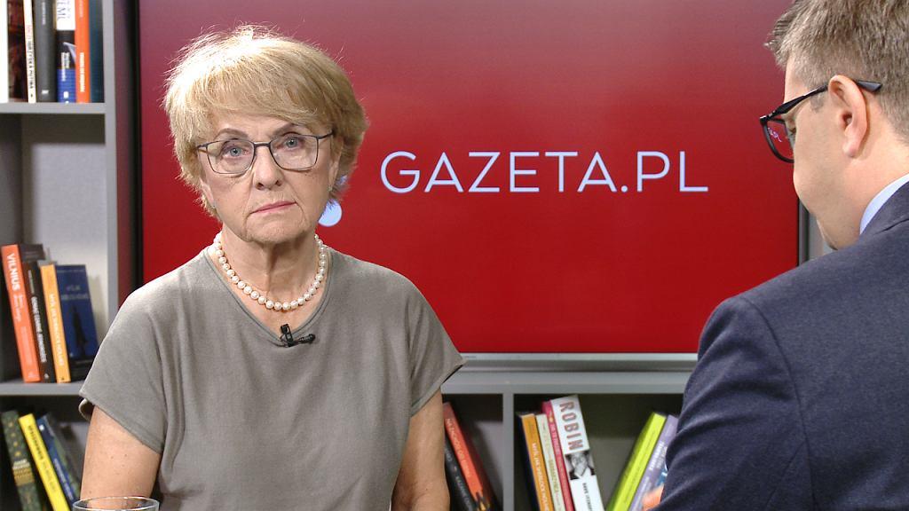 Danuta Hübner gościem Porannej rozmowy Gazeta.pl