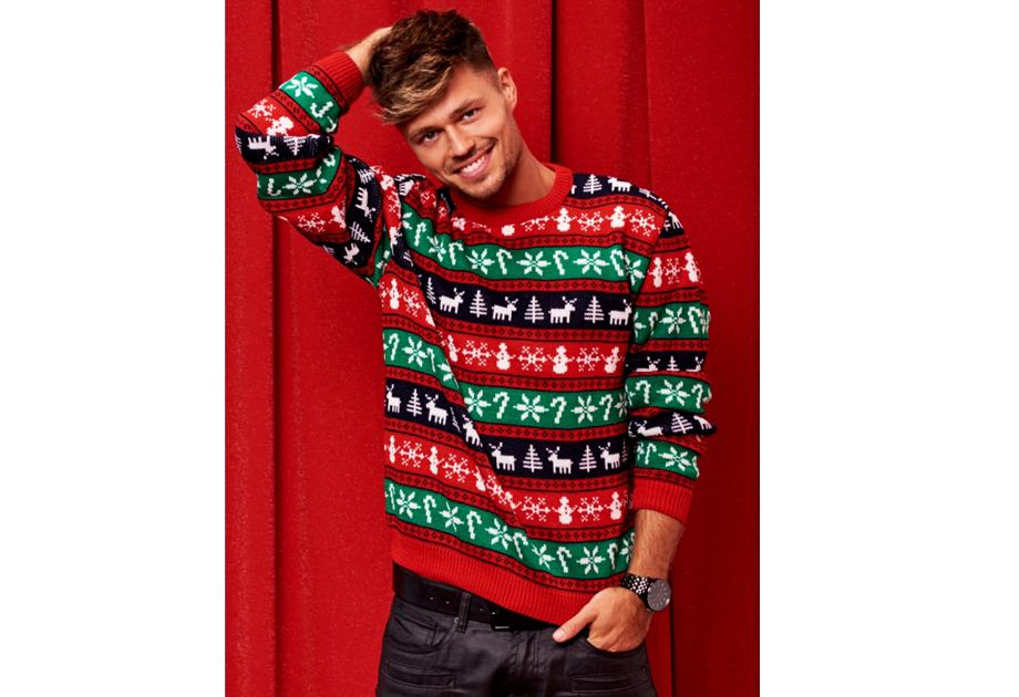 Swetry świąteczne męskie pomysł na prezent dla chłopaka