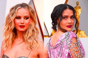Jennifer Lawrence, Salma Hayek