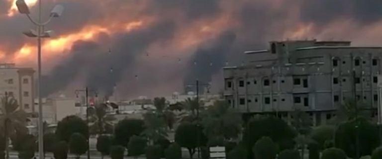 Saudowie wydali komunikat po ataku na rafinerie. Iran zagroził USA wojną
