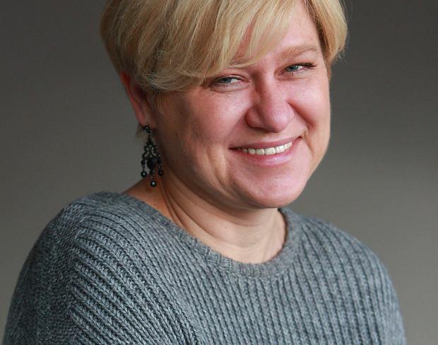 Dorota Jasińska, której mama i partner życiowy zmarli na raka i która od dziesięciu lat jest prezeską Fundacji Hospicjum Onkologiczne św. Krzysztofa w Warszawie (fot. Archiwum prywatne)