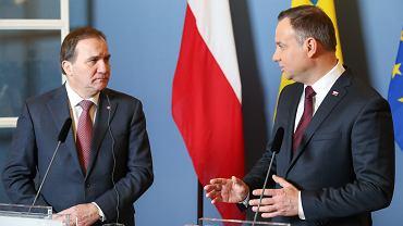 Wizyta prezydenta Andrzeja Dudy w Szwecji