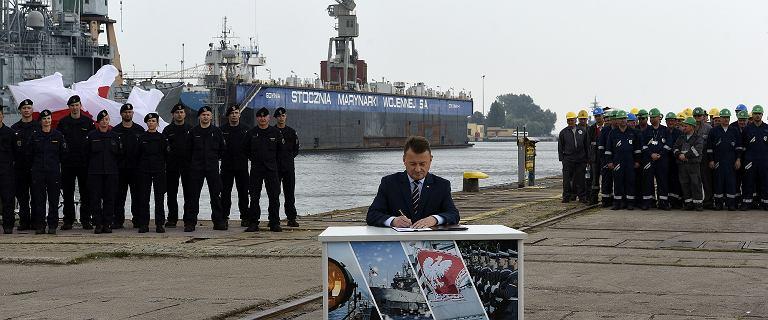 Fregaty Miecznik dla Marynarki Wojennej zamówione. Umowa nie bez ryzyka