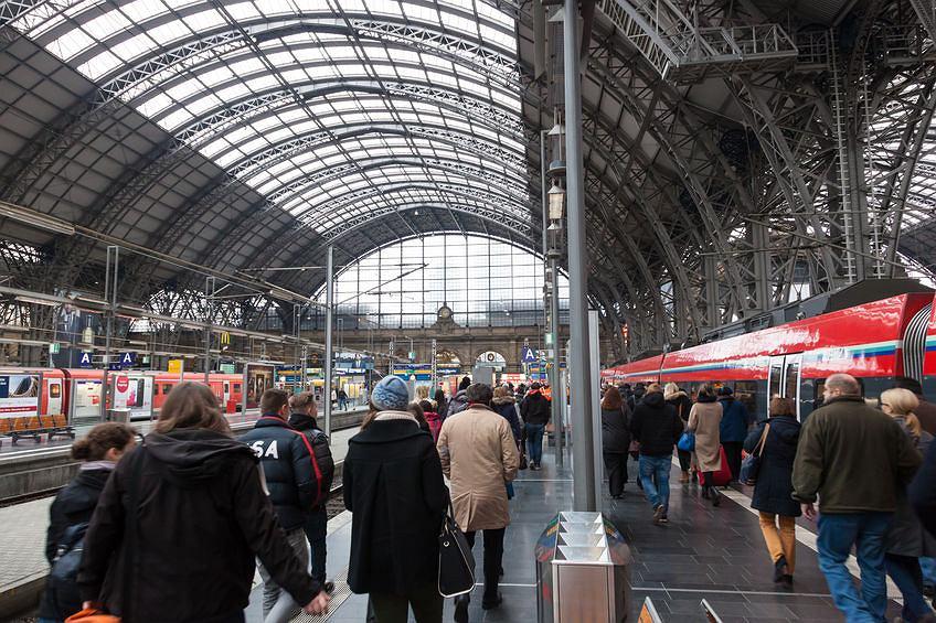 Dworzec główny we Frankfurcie