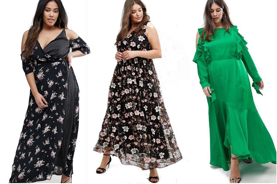 Sukienki maxi dla puszystych kobiet