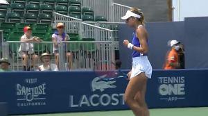 Wielki bój Magdy Linette w San Jose! Ale to jej rywalka zagra w półfinale turnieju [WIDEO]