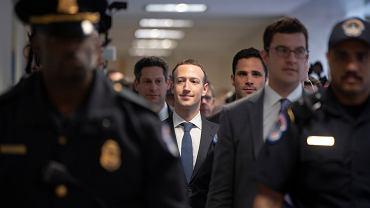 Mark Zuckerberg w Waszyngtonie