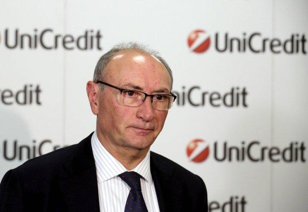 Federico Ghizzoni, ustępujący prezes UniCredit