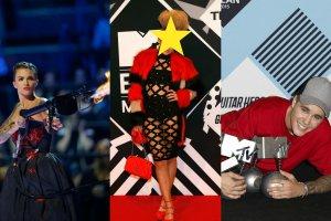 <p>W niedzielę w Mediolanie po raz 22. wręczono nagrody MTV Europe Music Awards. Największym wygranym gali okazał się być Justin Bieber uhonorowany trzemy statuetkami. Z jedną do domu wrócił współprowadzący galę, Ed Sheeran. Tak prezentuje się pełna lista zwycięzców:</p> <p>Najlepszy wokalista: Justin Bieber</p> <p>Najlepsza wokalistka: Rihanna</p> <p>Najlepszy teledysk: Downtown - Macklemore&Ryan Lewis</p> <p>Najlepszy występ na żywo: Ed Sheeran</p> <p>Najlepsza współpraca: Justin Bieber&Skrillex</p> <p>Najlepszy artysta światowy: Justin Bieber</p> <p>Najlepszy image: Justin Bieber</p>