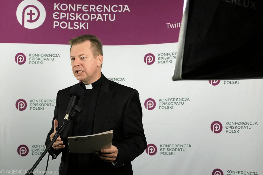 Rzecznik Komisji Episkopatu Polski ks. dr Pawel Rytel - Andrianik