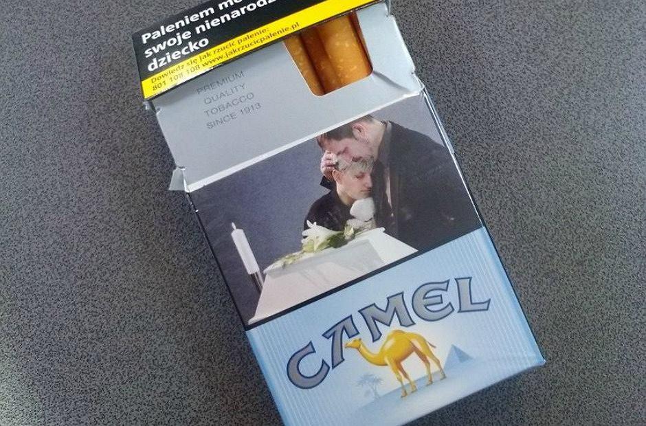 Nowe opakowanie papierosów