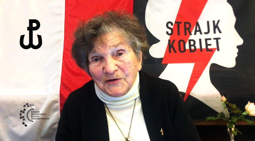 Uczestniczka Powstania Warszawskiego o strajku kobiet: 'My kobiety nie ustąpimy. Tym razem nie'
