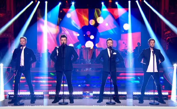 Westlife perform a greatest hits medley - Blackpool   BBC Strictly 2019