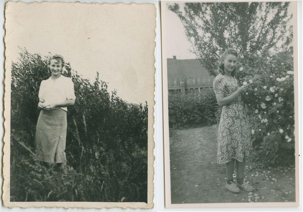 Zofia Posmysz w kilka lat po wojnie (fot. archiwum prywatne)