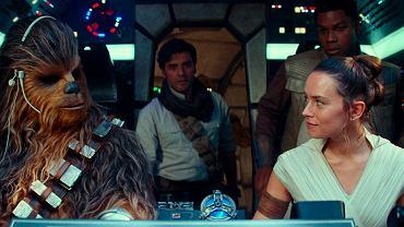 John Boyega jako Finn i Daisy Ridley jako Rey. Gwiezdne wojny: Skywalker. Odrodzenie/Star Wars: The Rise of Skywalker