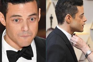 Rami Malek i niesforna muszka na Oscarach