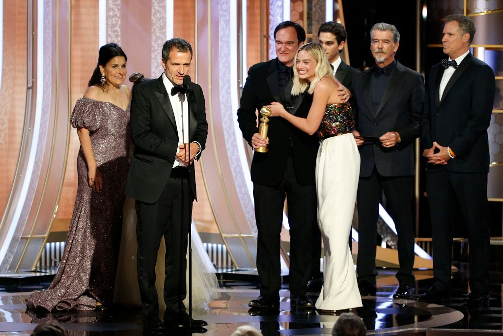 APTOPIX 77th Annual Golden Globe Awards - Show