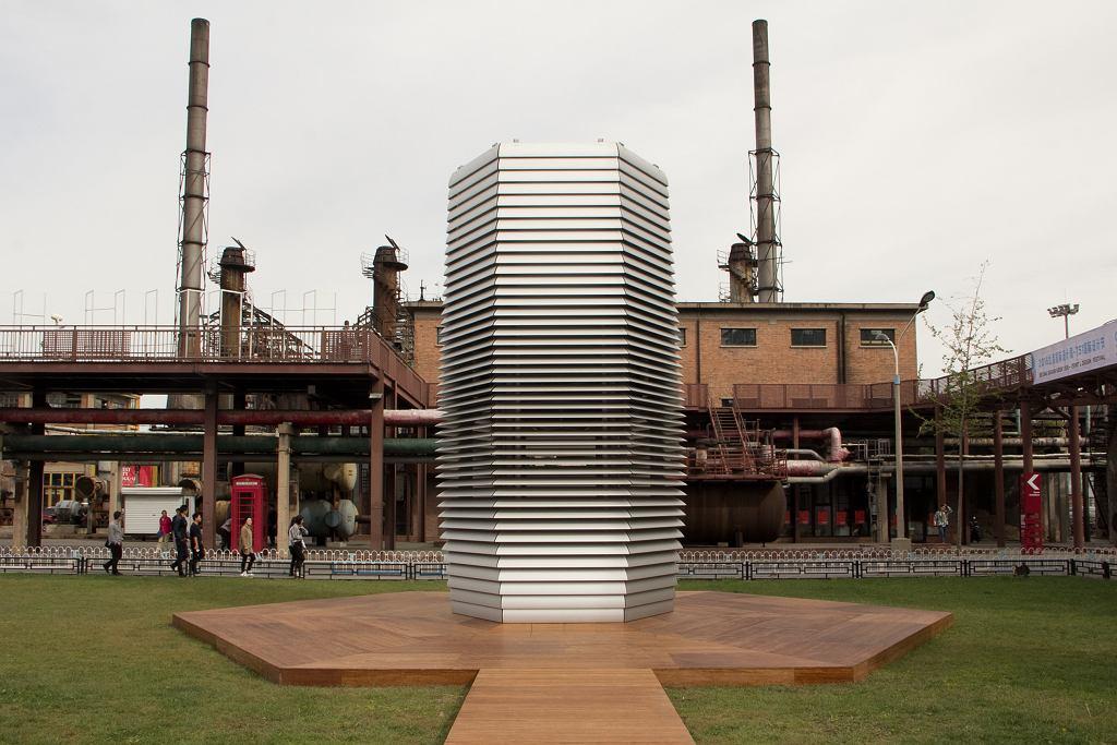 Wieża antysmogowa, która oczyszcza powietrze / fot. DerrickWang