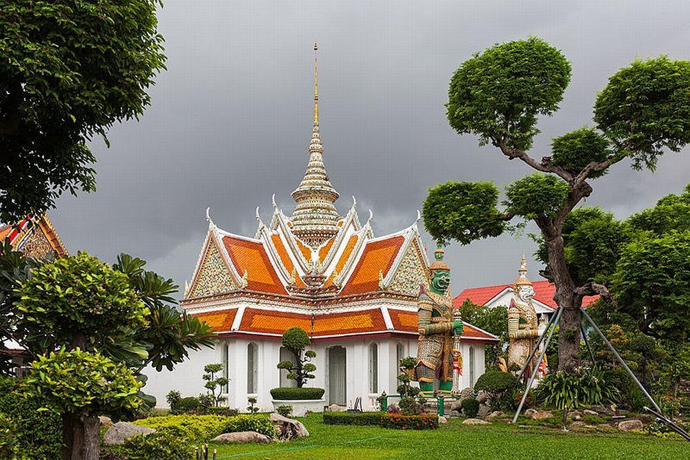 Wat Arun, Bangkok, Tailandia / Wikimedia Commons