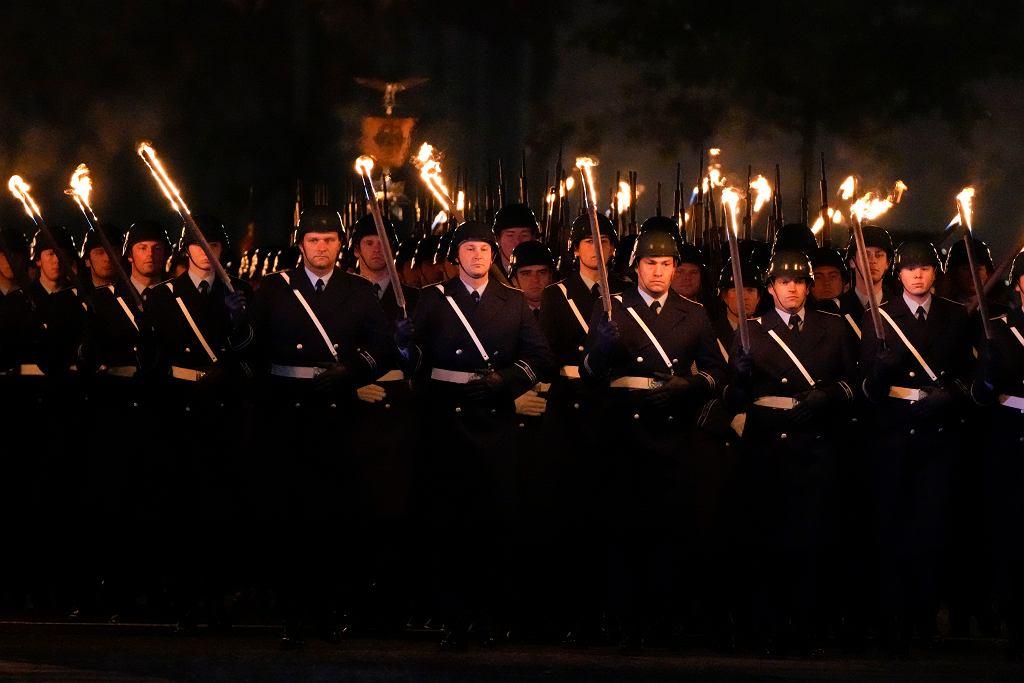 Parada stanowiła element obchodów, których celem było uhonorowanie żołnierzy niemieckich pełniących w przeszłości służbę w Afganistanie