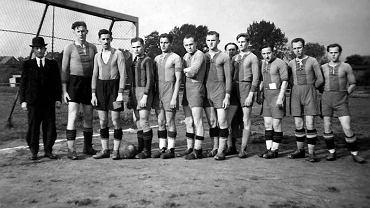 Drużyna piłkarska z Tychów, lata 30 XX w.